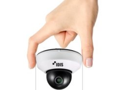 IDIS unveils micro dome camera for high end settings