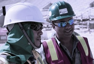 Qatar's cooling hardhats gain global attention