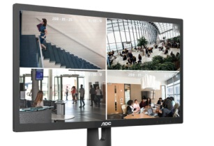 AOC launches new series of surveillance monitors