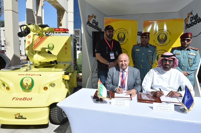 Dubai to deploy fire fighting robots