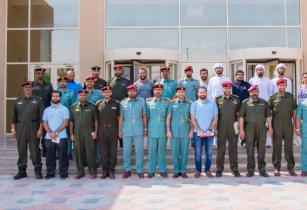 UL team members with UAE Civil Defence inspection teams at the training